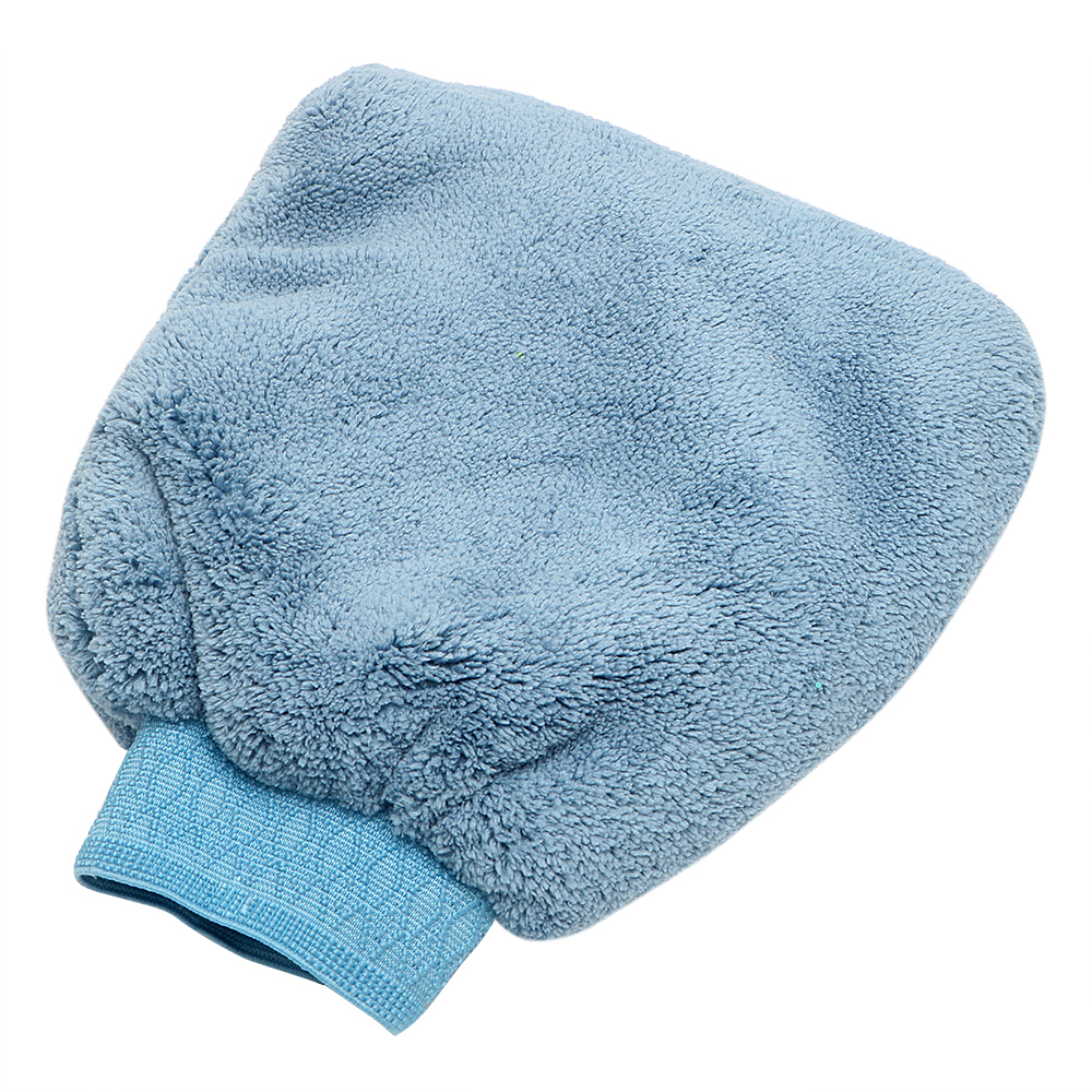 Car Cleaning Artificial wool Microfiber Auto Care Washing Gloves Car Wash Water Absorption Car-styling Car Accessories