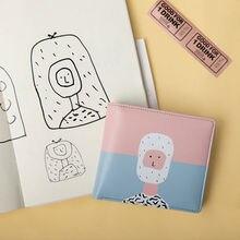 Original PU short wallets with fresh printing in 4 styles (FUN KIK)