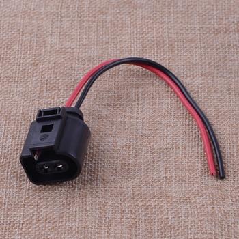 CITALL  2 Pin Fog Light Lamp Wiring Plug Pigtail Connector for Audi A6 Allroad Quattro VW Jetta Golf GTI MK4 Passat 1J0973722 cutting tool