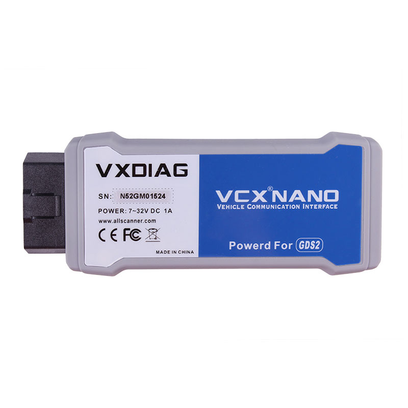VXDIAG VCX NANO for TIS2 WEB Diagnostic Tool and GMOpel GDS2  USB version Programming System for GM better than MDI