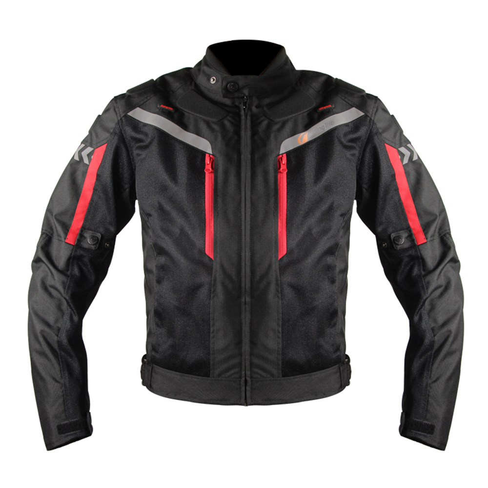 Riding Tribe motorcycle jacket knight motocross jacket moto racing clothing with removable waterproof lining CE protectors riding tribe men s motorcycle bikes slimming protective armor jackets motocross breathable cycling suits clothes with 6 pads