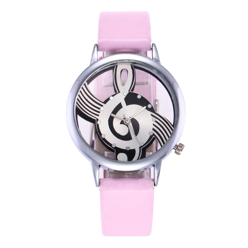 Exquise hoge kwaliteit lederen waterdicht horloge Top Fashion vrouwen - Dameshorloges - Foto 3