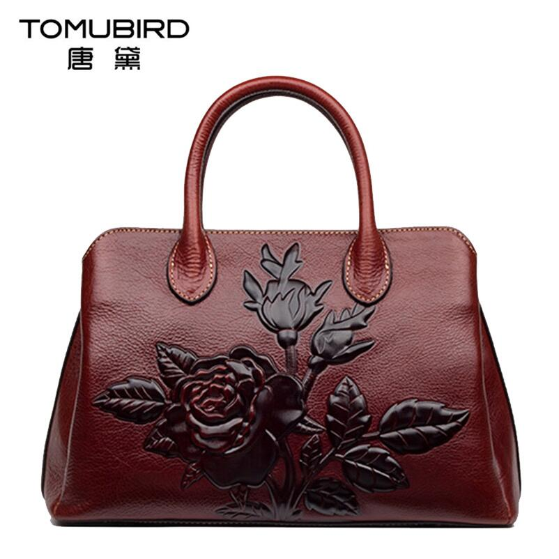 2017 New women bag genuine leather brands high quality cowhide embossing fashion retro women handbags shoulder messenger bag 2016 new women genuine leather bag fashion chinese style top quality cowhide embossing women leather handbags shoulder bag