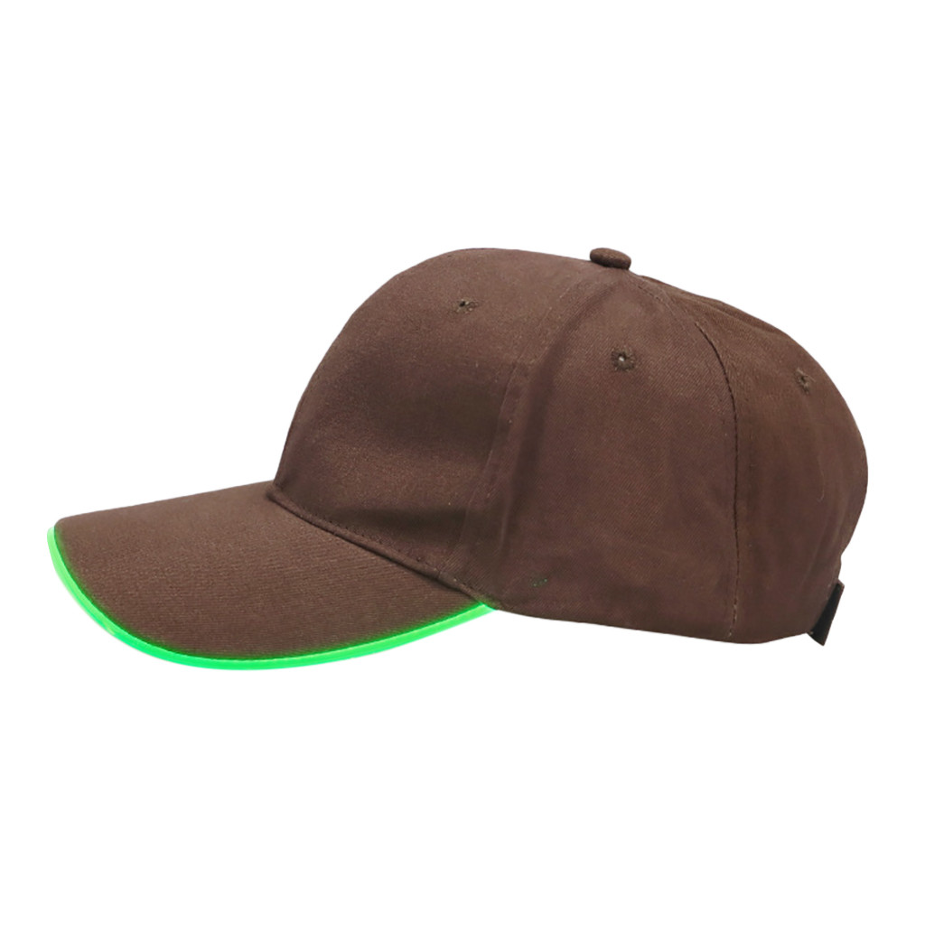 Led Lighted Up Hat Glow Club Party Baseball Hip-hop Adjustable Sports Cap Hop Baseball Hat Snapback Hat Gorras Hombre Sale Price Men's Hats