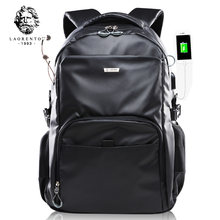 LAORENTOU Backpack for Men and Women Laptop Computer Bag Girls Fashion Backpacks Big Capacity School Bag Trendy Female Backpack(China)