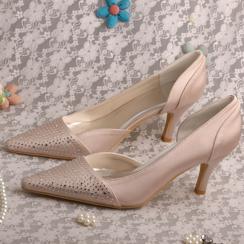 Online Get Cheap Mid Heel Nude Pumps -Aliexpress.com | Alibaba Group