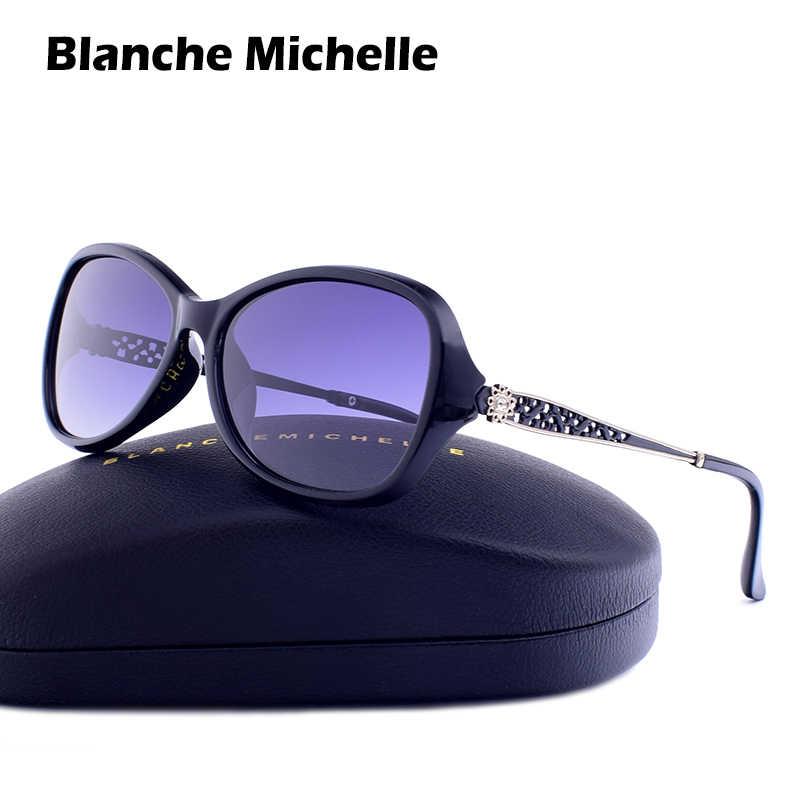 712fb4bad6 Blanche Michelle 2019 Square Polarized Sunglasses Women UV400 Brand  Designer Gradient Sun Glasses gafas de sol