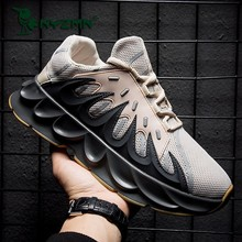 цена на Ins Daddy Shoes Men lighted Summer Sneakers Zapatillas Deportivas Hombre Fashion Breathable Casual Shoes Sapato Masculino