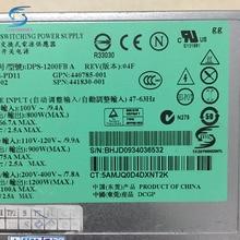 Freies schiff, HSTNS-PD11 1200 Watt Server Stromversorgung DPS-1200FBA 438202-002 440785-001 für DL580G5 und bergleute für Bitcoin