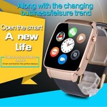 2016มาถึงใหม่ยอดนิยมsmart watch x6 s mart w atchสนับสนุนซิมtfบัตรบลูทูธwap gprs sms mp3 mp4 usbสำหรับiphoneและAndroid