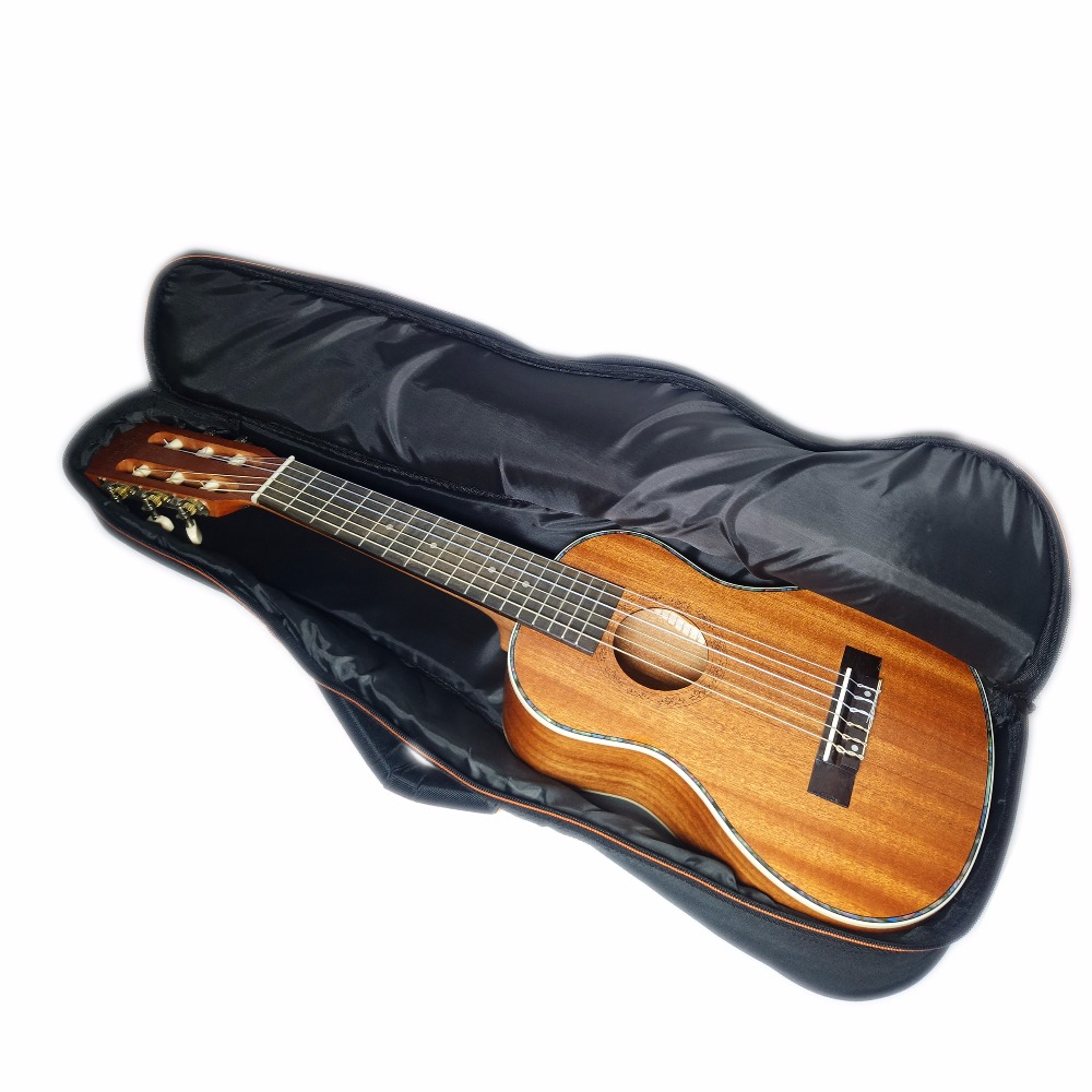 Guitalele Case Ukulele Bag 28 inch 13mm Waterproof Backpack Mini Guitar Ukelele Guitarra Baritone Big Beige Accessories Gig