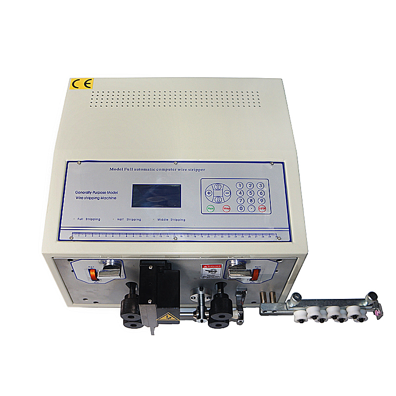 Fio máquina tira SWT-508E Automática esfola tira computador de corte do fio máquina de descascamento do Fio 0.1 para 8mm