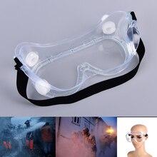 Горячая Распродажа, защитные очки, экономичные, прозрачные, противотуманные линзы, защита глаз, защита от пыли, лабораторные очки, анти-ударные, анти-химические брызги