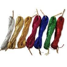 Шелковая нить/Спиральная вышивка/нить для вышивки/серебристая металлическая нить/линии для вышивки должны быть использованы