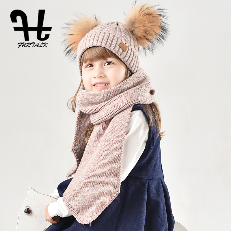Aliexpress Com Buy Furtalk Children Wool Winter Hat