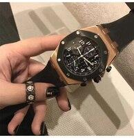 Знаменитые мужские и женские часы Топ подиум роскошный европейский дизайн автоматические кварцевые наручные часы