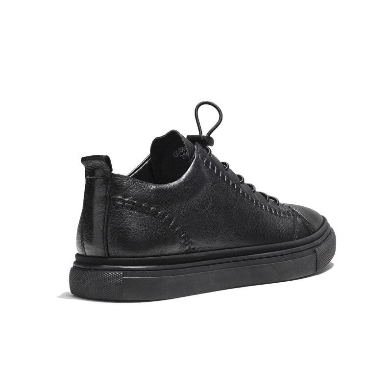 Top Condução 2019 Low Calçados Sapatos Trainer red Verão Preto Flats Black Up Masculinos Sneakers Do Casuais Lace Homens Couro De Genuíno Punk Luxo qzZZ76