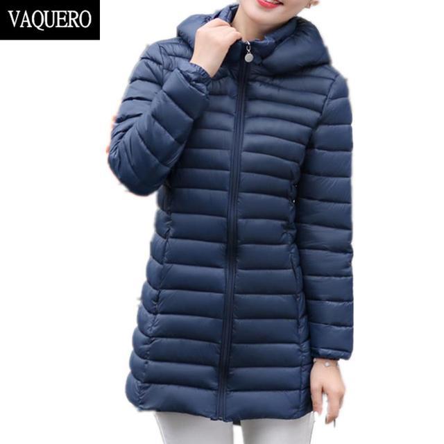 2016 Mulheres Jaqueta de Inverno de algodão-acolchoado plus size Casaco de Inverno Mulheres Parka Quente Slim Com Capuz Fino Casaco Com Capuz feminino M-XXXL