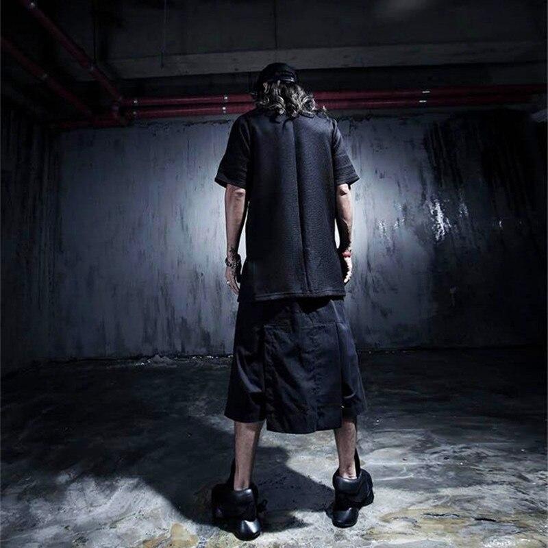 Для мужчин одежда мужской костюм винтажные повседневные брюки осень личность рабочая одежда Грут