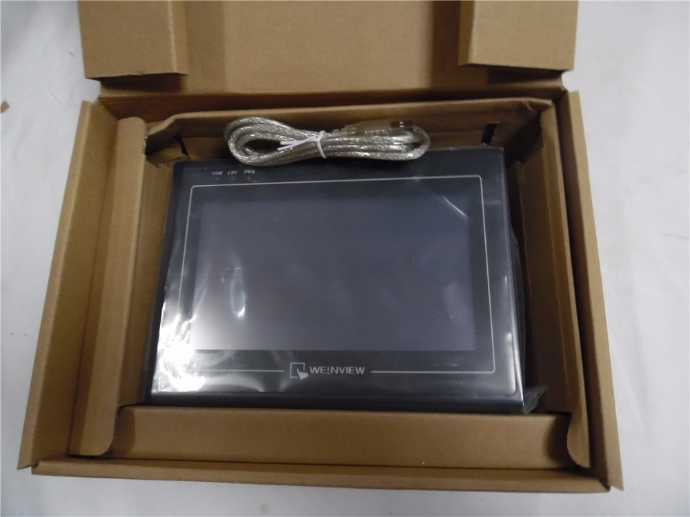 Original New 7'' Weinview Weintek HMI 7 inch Touch Operator Panel Display Screen MT6070iH3 with Free Software