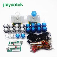 2 players arcade Raspberry pi PS3 PC 3 IN 1 USB Encder 8 Way joystick Controller For Arcade kit JAMMA MAME DIY