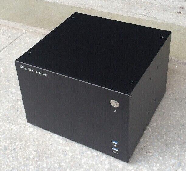 BZ06 D MINI ITX алюминиевый игровой компьютер Gamer PC шасси/DIY шасси