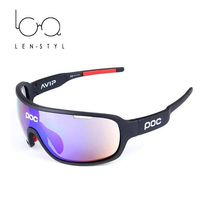 LENSTYL TR90 Sun Glasses Men Outdoor Sports Sunscreen Glass Sun Glass Eyewear Wind Dustproof Anti-Shock Water-resistant w/ Case