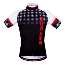 WOSAWE MTB Jersey Ciclismo racing ciclismo bicicleta jersey ropa de ciclismo de verano de Secado rápido corta bici jersey