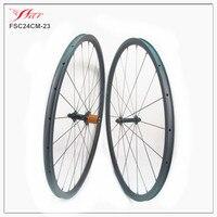 Ultralight carbon wheelset 24mm x23mm clincher rims with superligh ed hub, only 1190g/set, sapim aero spoke carbon wheels 3K/UD