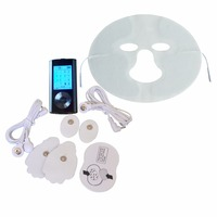 Body Health Care TENS/EMS Therapy Massager Muscle Stimulator Pain Relief Device 8Modes+1Pc Physiotherapy Electrical Facial Mask