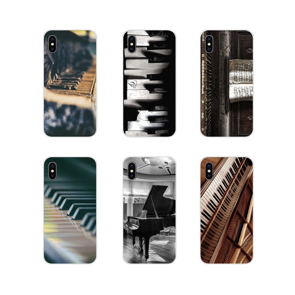 Accessories Phone Cases Covers For Huawei Mate Honor 4C 5C 5X 6X 7 7A 7C 8 9 10 8C 8X 20 Lite Pro Music Software Piano image