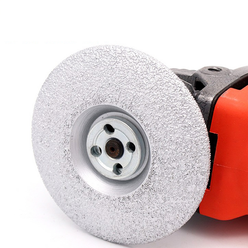 100x22.2x3.0mm 125x22.2x3.0mm Brazed Diamond Grinding Discs Angle Grinders Pad Tool