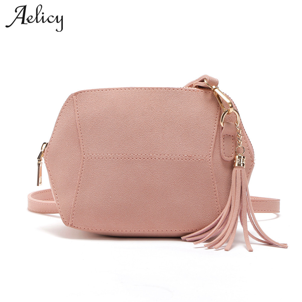 Aelicy 10 Colors Women's Handbags Purses Bag Ladies Messenger Crossbody Bag Femme Designer Tassel Clutch Bags Bolsa Feminina New