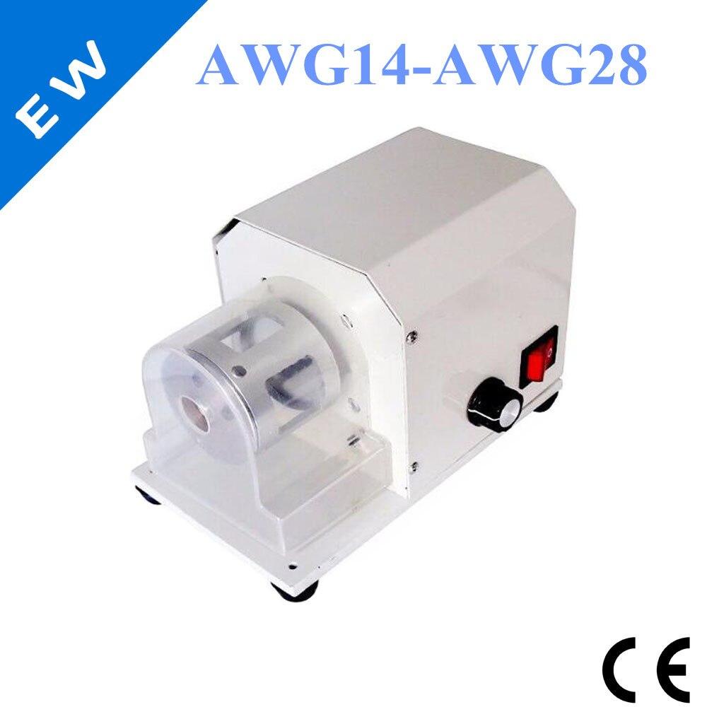 EW-10ST 110V/220V Wire Stripping Twisting Peeling Machine Cable Stripper