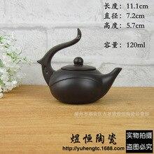 Förderung authentische yixing teekanne Lila ton teekanne handgemacht wasserkocher 130 ml tee-set Chinesische teezeremonie