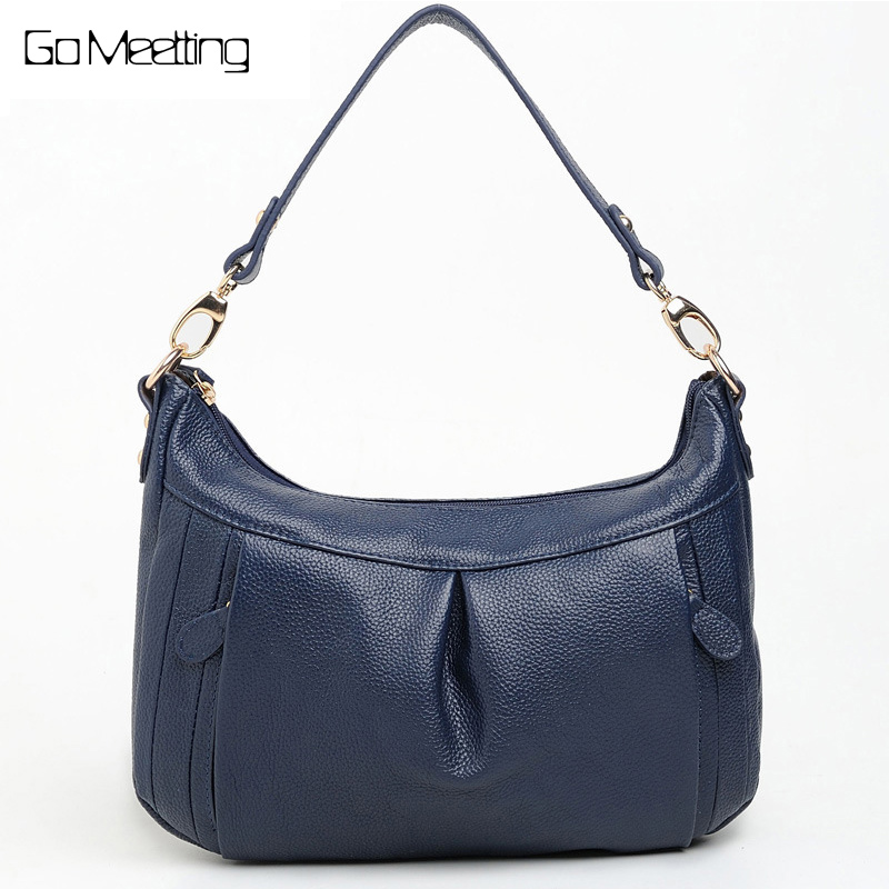 Go Meetting Genuine Leather Women Shoulder Bag High Quality Cow Leather Women's Crossbody Bags Fashion female diagonal package женские часы go girl only go 694925