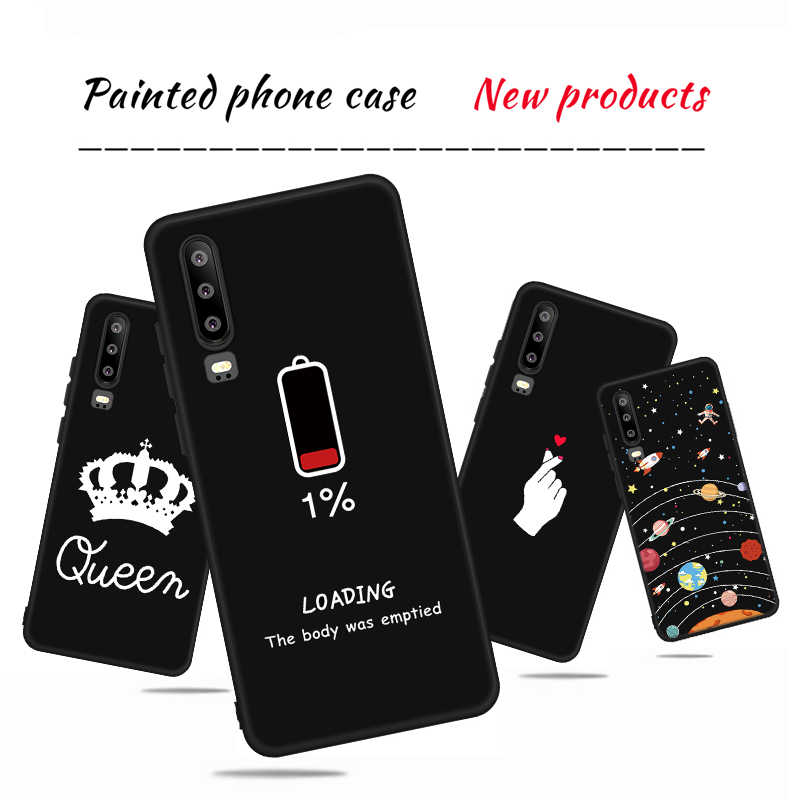 Fashion Heart Pattern Case For Huawei Mate 20 10 P30 Pro Nova 3 3i 4 P Samrt Plus Y5 Y6 Y7 Prime 2018 Y6 Y7 Pro Y9 2019 Case