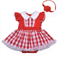 d63c65db74822d8 Gooulfi Baby Dress Red 1St Birthday Girls Baby Clothing With Headwear 2pcs  For Newborn