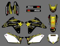NEW TEAM DECALS GRAPHICS BACKGROUNDS STICKERS FOR Suzuki RMZ450 RM Z 450 RMZ 2007 Motorcycle Graphic Decal Sticker