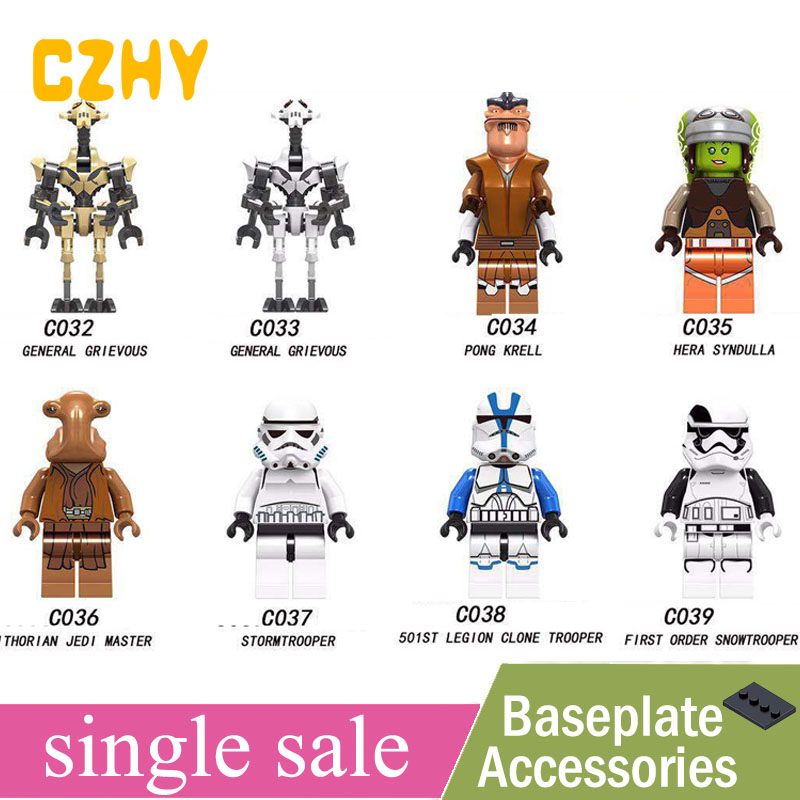 star-wars-general-grievous-jedi-master-snow-clone-trooper-stormtroopers-building-blocks-toys-c032-039-legoe-font-b-starwars-b-font-minifigured