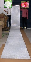 5 м 61 см шириной 3 мм Кристалл Стикеры ролл ясно оптовые ювелирные изделия Rhinestone камень алмаз Бумага Craft фотоальбоме главная Таблица diy