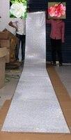 5 메터 61 센치메터 넓은 3 미리메터 크리스탈 스티커 롤 명확한 도매 보석 모조 보석 다이아몬드 종이 공예 사진 Ablum 홈 테이블 DIY