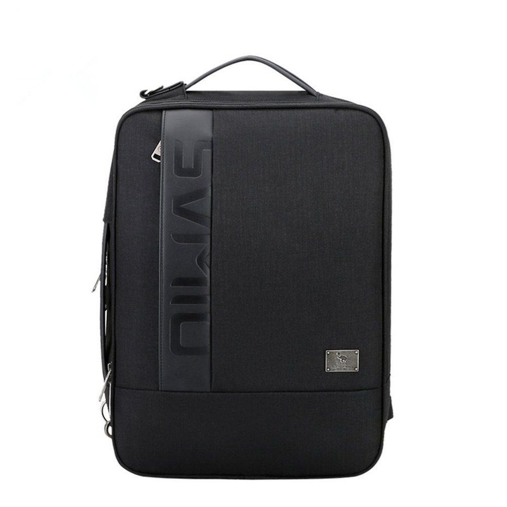 Oiwas Men Male Classic Design Business Backpack Large Capacity Travel Backpack Shoulder Bags for 14 Inch Laptop male classic microfiber leather backpack