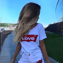 Love Printed New Women Casual T-shirts