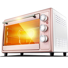 The electric oven is used to bake the multi-functional, full-automatic mini cake with a 30-litre capacity.