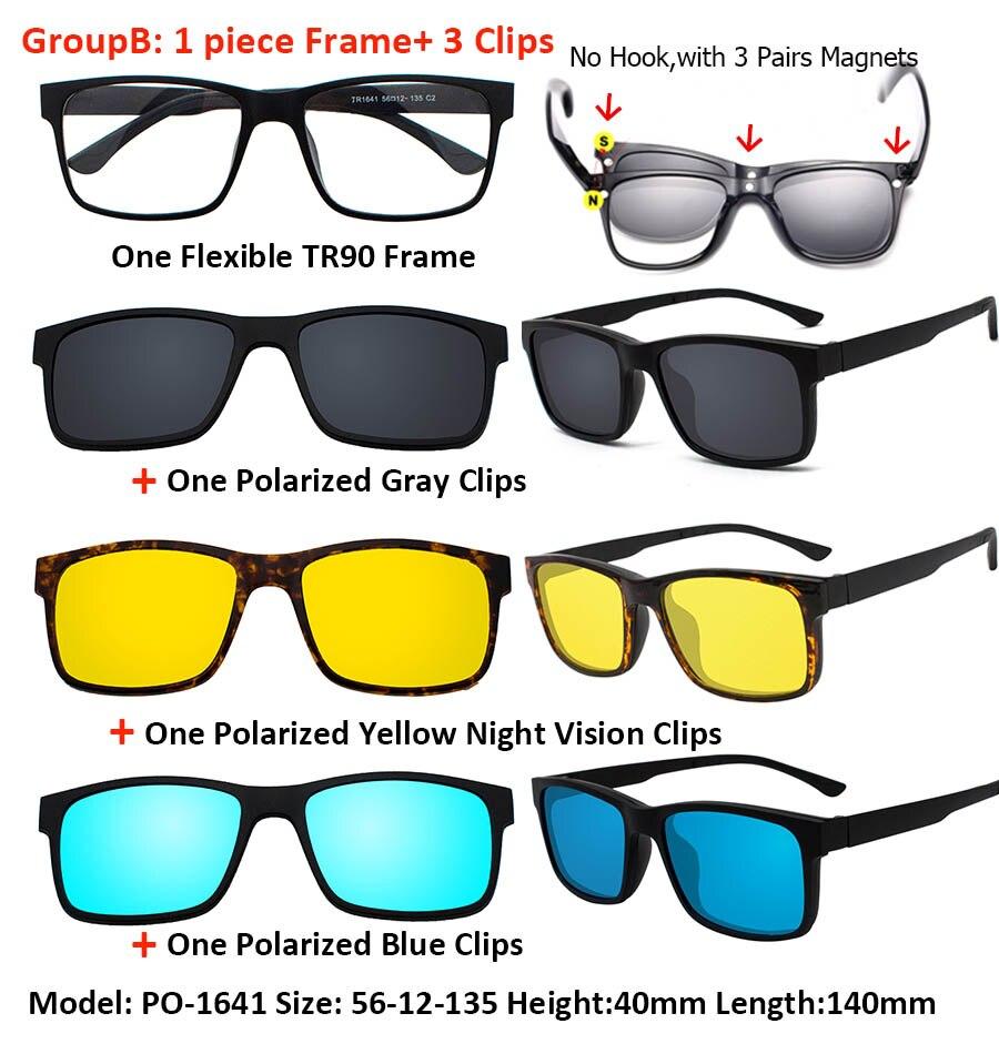 Ivsta 3016 Magnet Sonnenbrille Clip Magnetische Auf Kacamata Frame On 2202a Z5 Logo