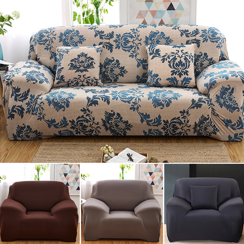 European Polyester Sofa Cover Textile Supplies Non Slip