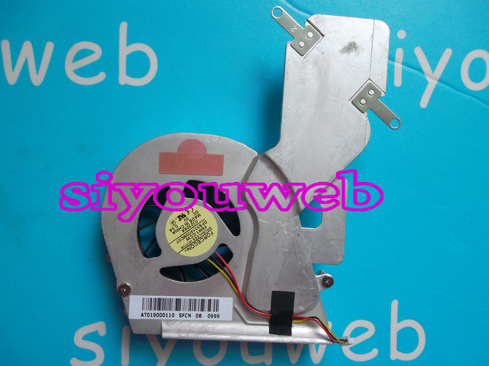 NEW  CPU Cooling Fan & Heatsink AT019000110 for Toshiba Satellite A200 A205 A210 A215 laptop , free shipping new for asus x552c x552cl x552e x552ea x552ep x552l x552ld x552m x552 cpu fan free shipping