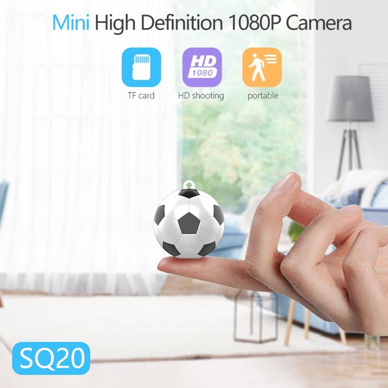 Home Security Camera SQ20 Mini Camera HD 1080P Monitor Voice Recorder Mini DV Sport Camera(China)
