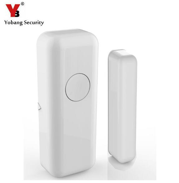 Yobang Security 433Mhz Wireless Home Alarm Window/Door Sensor Door Detector Open Door Alarm For YB103 Alarm Panel smartyiba 433mhz wireless door window sensor door open detection alarm door magnetic sensor door gap sensor for alarm system